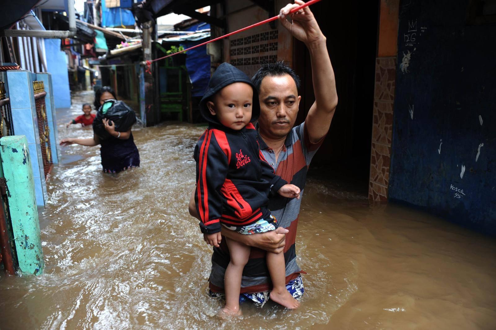 INDONESIA-JAKARTA-FLOOD