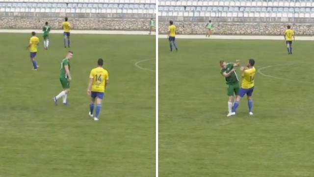 Igrača pogodio šakom u glavu, a navijači se potukli u Novalji: 'Ni policajci im nisu mogli ništa'