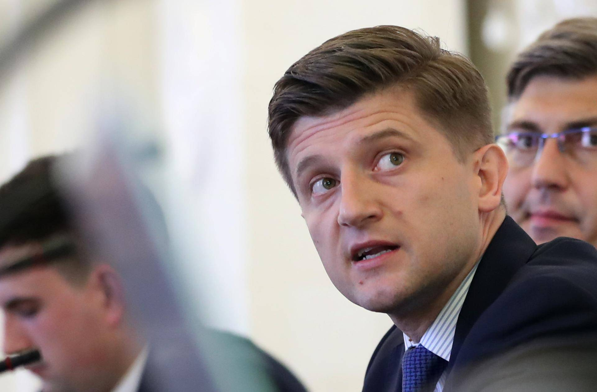 Zagreb: Premijer Plenković i ministar financija Zdravko Marić predstavili  poreznu reformu