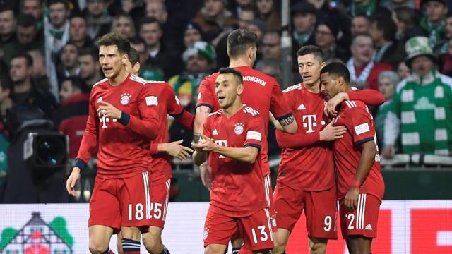 Bundesliga - Werder Bremen v Bayern Munich
