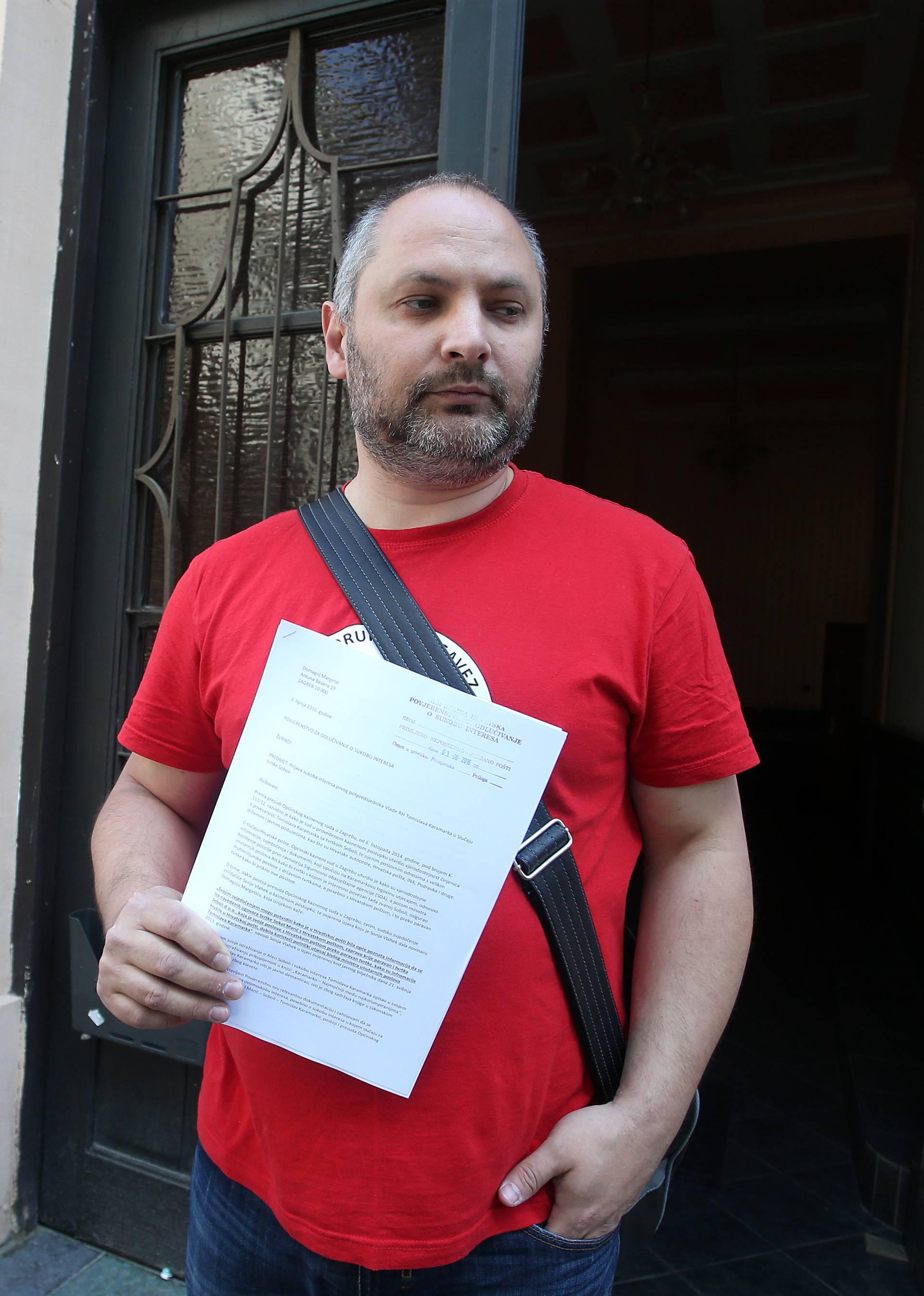 'Domagoj Margetić je napadnut  i pretučen u središtu Zagreba'