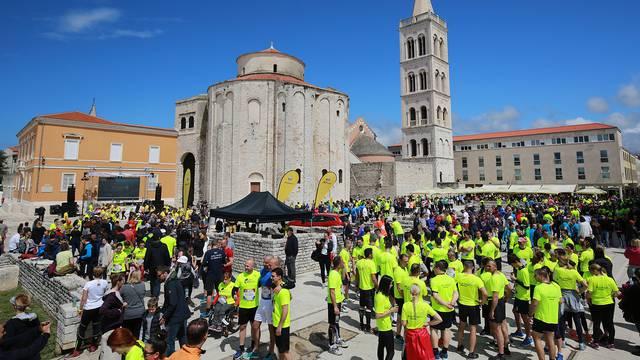 Više od 8 tisuća trkača danas u Zadru trčalo 'Wings for life'