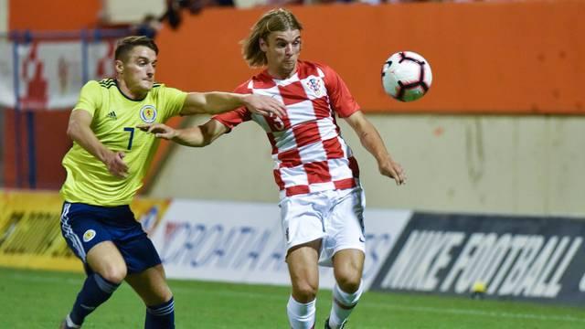 Šibenik: Kvalifikacijska utakmica za Euro U-21, Hrvatska - Škotska
