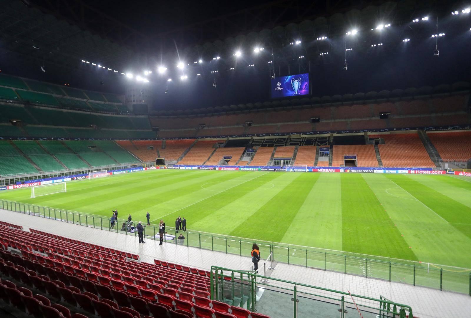 Milano: Trening GNK Dinamo uoči utakmice protiv Atalante