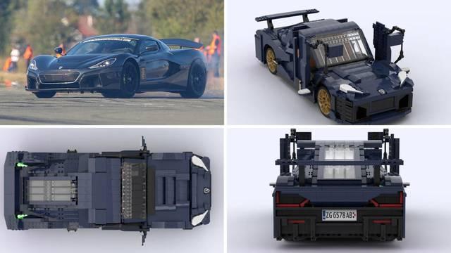 Rimčeva Nevera od Lego kockica ima preko 2000 dijelova: 'Trebalo mi je 50 sati da složim'