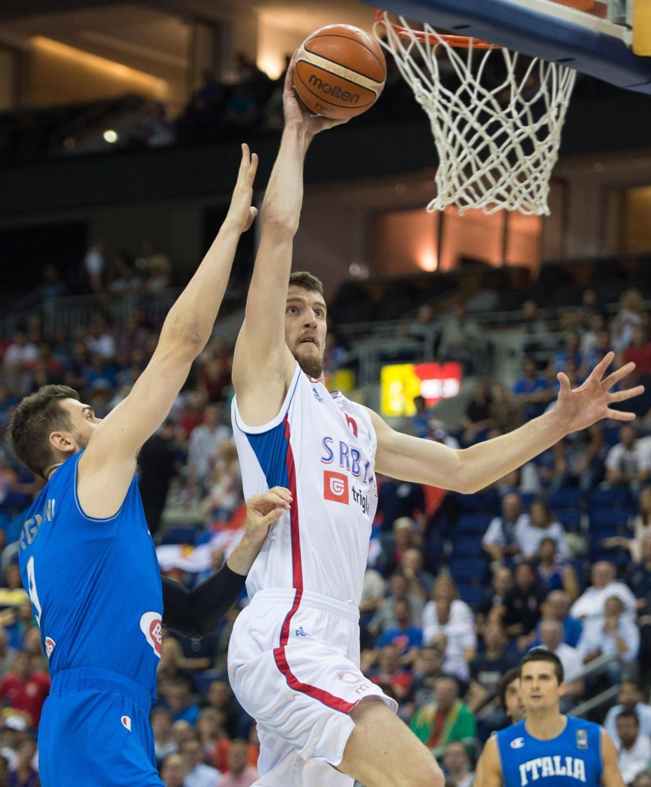 Basketball -  Serbia vs Italy
