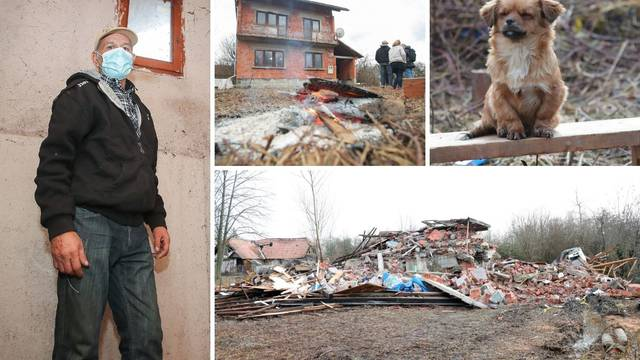 Za Milu je kasno, ostao je pod ruševinama kuće, ali njegova obitelj mora dobiti novu kuću