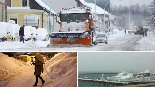 Hladniji od Sibira: Temperature u minusima zahvatile Hrvatsku