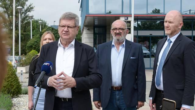 Zagreb: Konferencija stranaka Demokrati i Hrvatski laburisti na temu: Zbogom ministrice Divjak