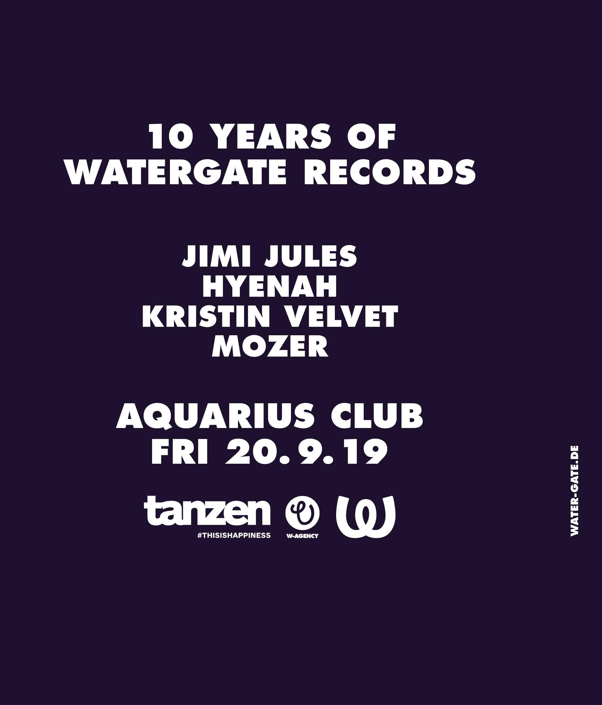 Tanzen se vraća u Aquarius klub nakon ljetne stanke!