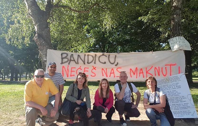 Nova drama na Savici: 'Bandić opet želi betonirati naš park'