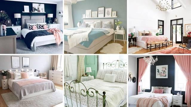 20 ideja kako urediti spavaću sobu - da bude kao iz časopisa