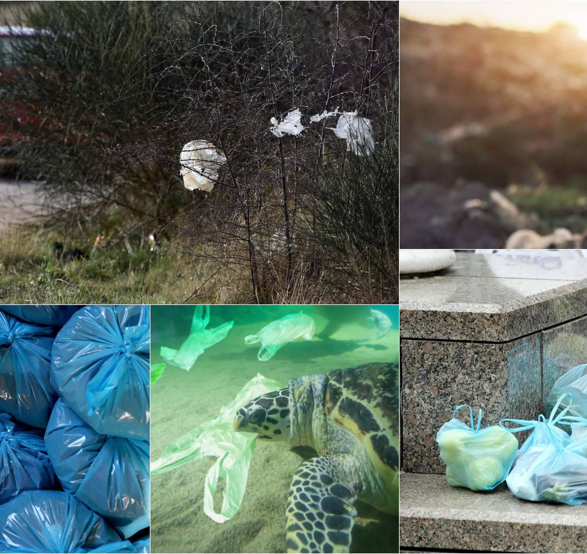 Ljudi su opet zeznuli: Plastične vrećice mogle su spasiti planet