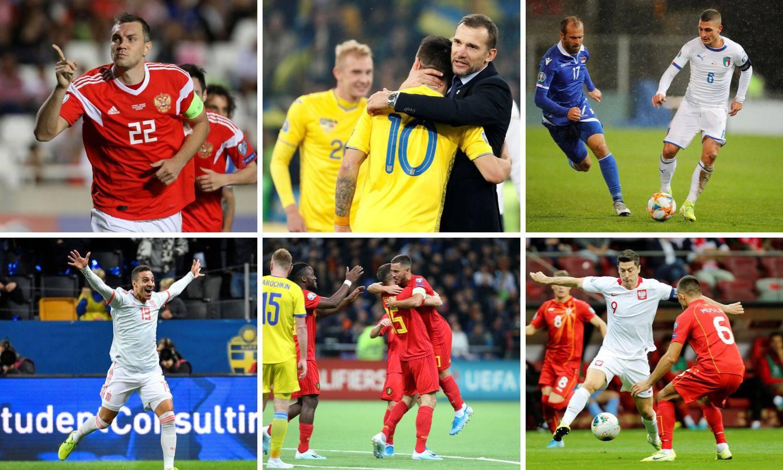 Šest reprezentacija osiguralo je Euro, čeka se još i Hrvatska!