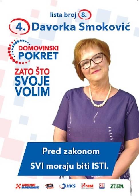 Davorka Smokvić, osuđena za pomaganje organiziranom kriminalu je ...