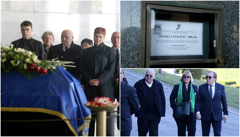 Zdenku Vučković ispratili su uz njen veliki hit 'Zagreb, Zagreb'