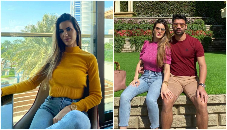 Da Silva i žena otišli u Dubai: Mazili se pa jeli japansku hranu