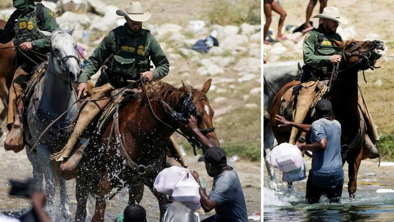 Američki graničari na konjima bičuju haićanske izbjeglice?!