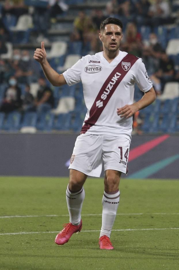 Italian football Serie A match - US Sassuolo vs Torino FC
