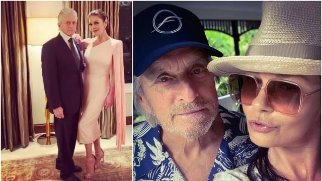 Zeta-Jones pozirala s mužem: 'On izgleda stvarno jako staro'