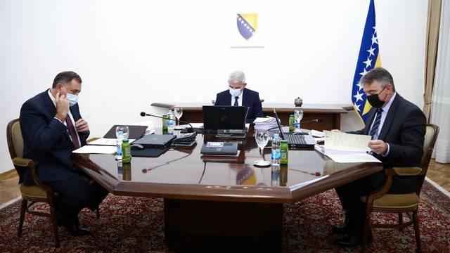 Sarajevo: Sjednica Predsjedništva Bosne i Hercegovine