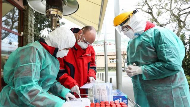"U NZJZ ""Dr. Andrija Štampar"" uvedena ""drive in""dijagnostika koronavirusa"