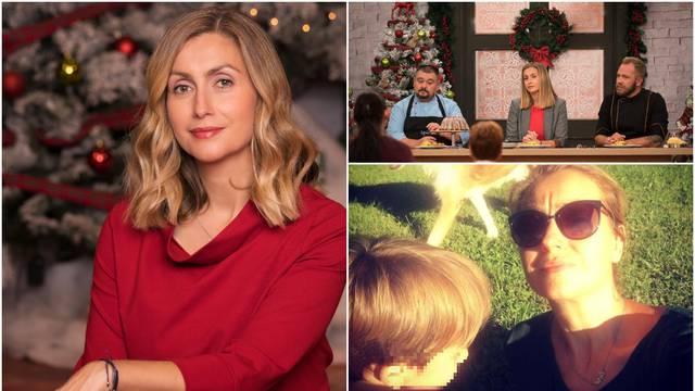 Željka Klemenčić: 'Suprug i ja se za Božić guramo u kuhinji. Sin se jako veseli mojim kolačima'