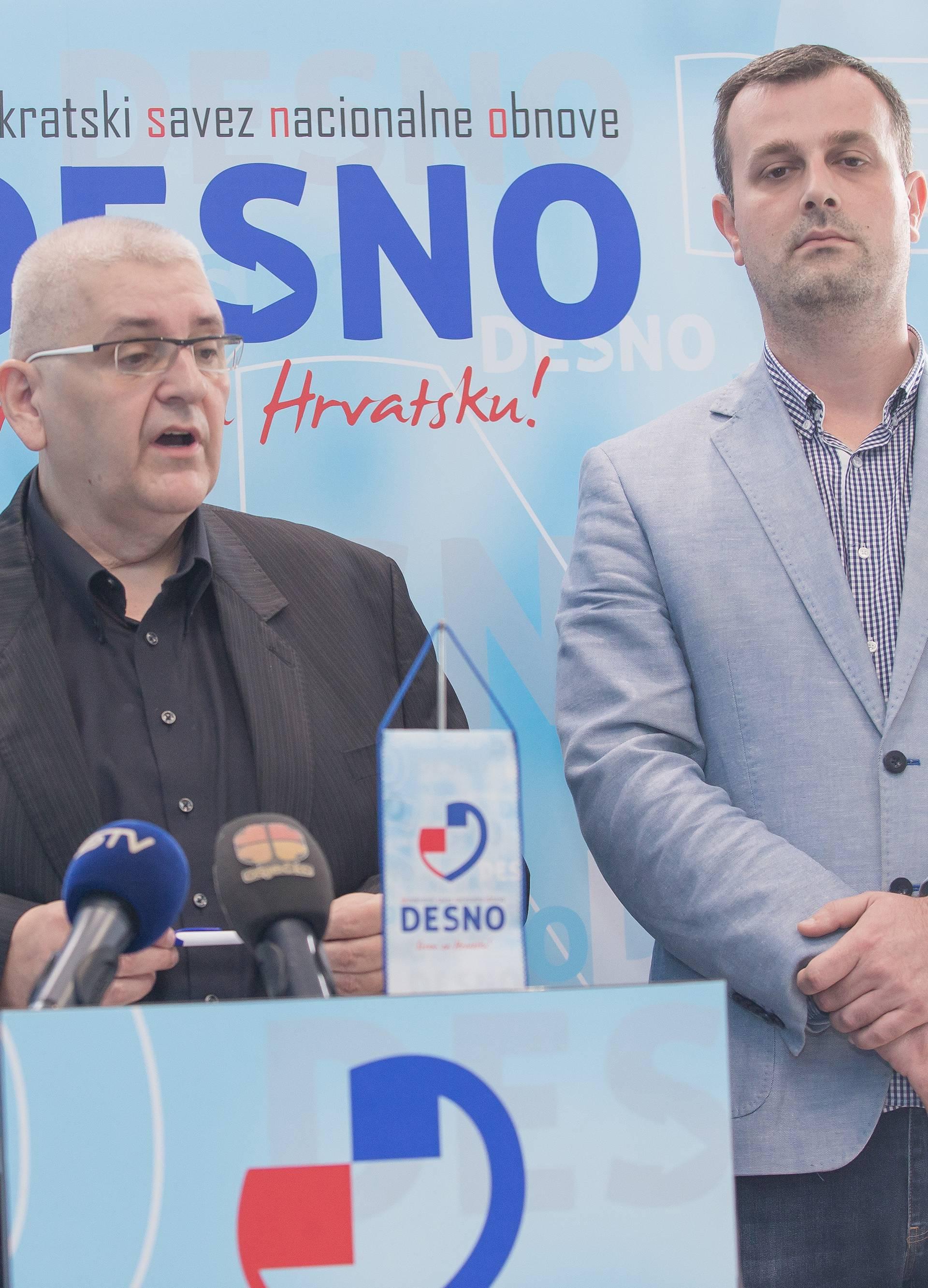Osijek: Stranka Desno kritizirala imigrantsku politiku Vlade RH