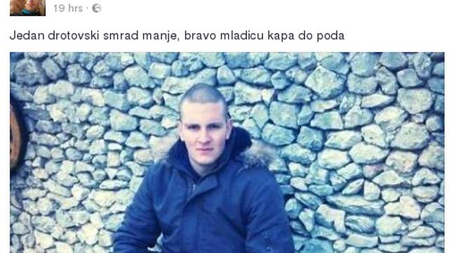 Prijavili  muškarca koji je javno podržavao dvostruko ubojstvo
