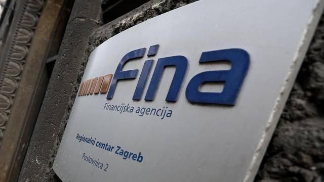 Fina: Na kraju trećeg mjeseca u blokadi 238.135 građana RH