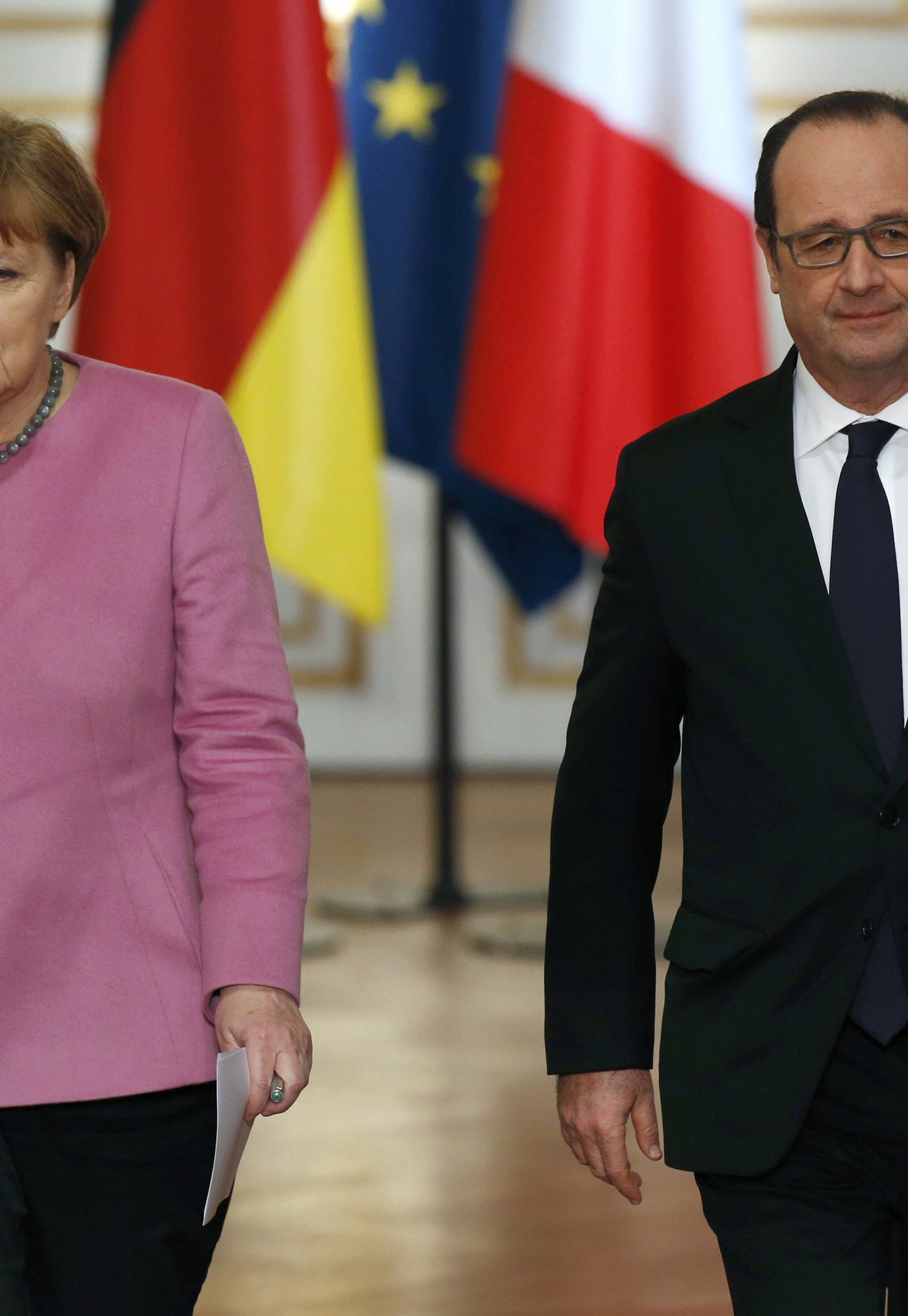 Sastanak: Hollande i Merkel o izbjegličkoj krizi i terorizmu