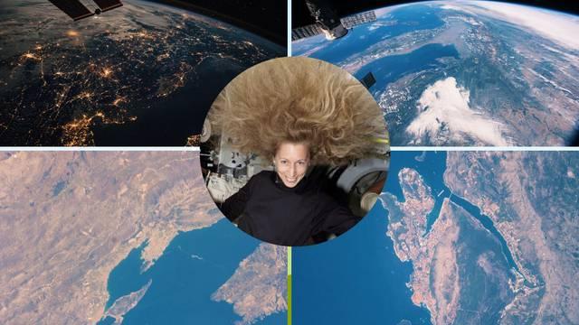 Poslala fotografije Hrvatske iz svemira: 'Obala je prekrasna'