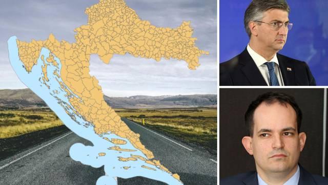 Korona je pokazala: Spas je u pet regija i 100 velikih općina