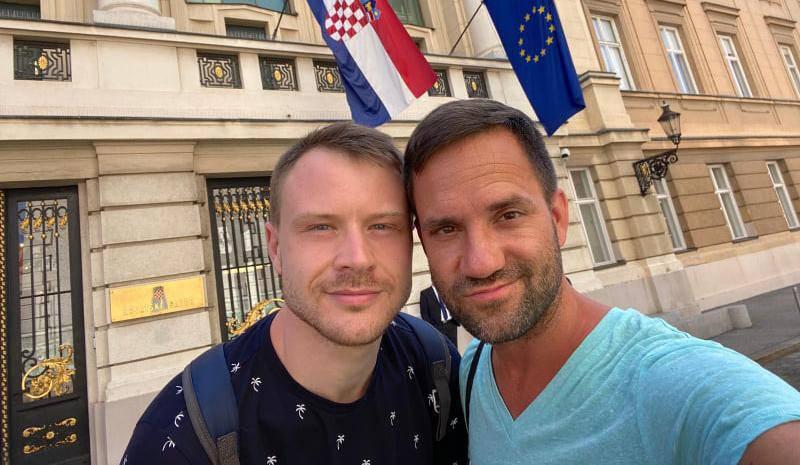 Gay par: 'Hrvati se srame, a mi za njih imamo velike... Planove'