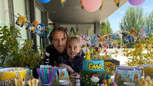 Obitelj Modrić priredila je malu proslavu: 'Moja ljubav raste...'
