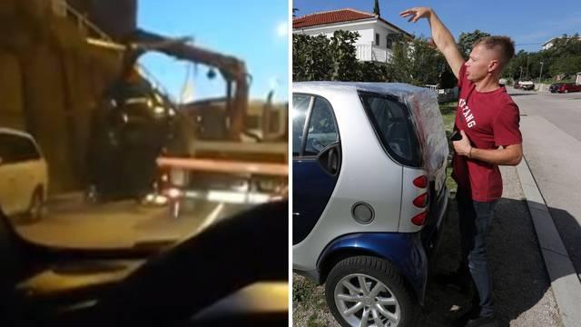 Vozač pauka se ispričao: 'Auto mi nije baš ispao, zaljuljao se!'