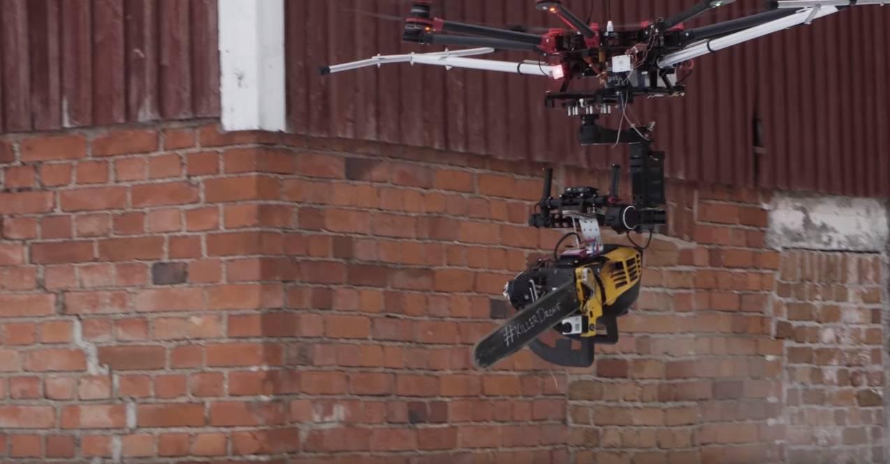 Kao moderna noćna mora: Na dron odlučili spojiti motorku