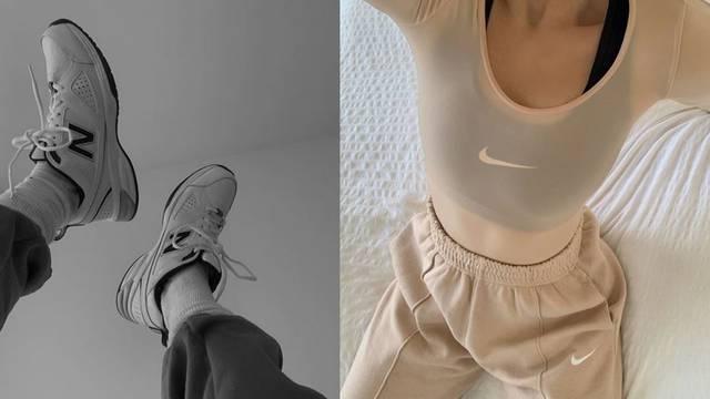 Karantena je kriva za trend: Cool cure nose bazičnu formulu trenirke, šilterice i tenisica