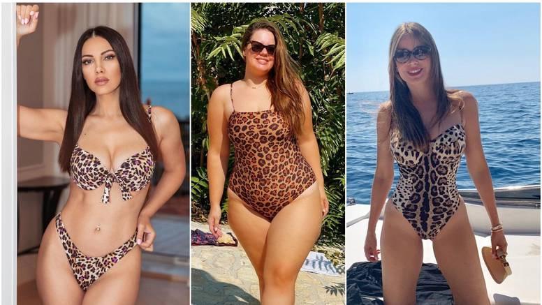 Leopardice s plaže: Žanamari zbog kupaćeg slala poruku Sofiji Vergari, a Lucija voli isti uzorak