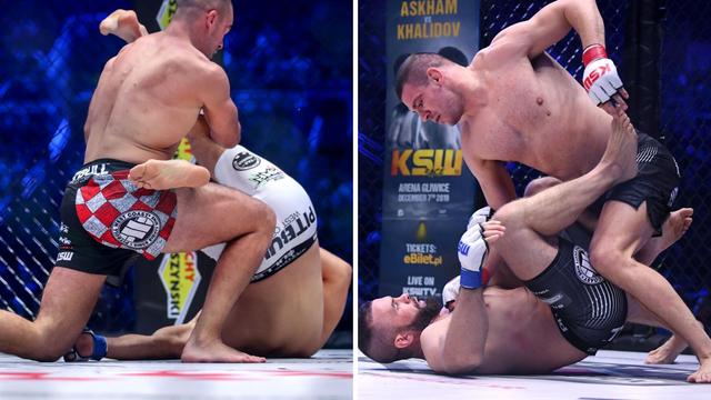 Pogledajte brutalne nokaute hrvatskih MMA boraca u Areni