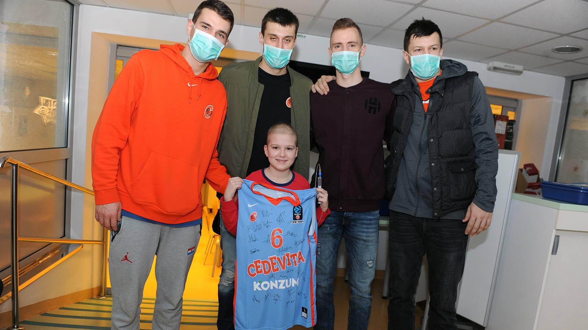 KK Cedevita: Sredstva za djecu oboljelu od malignih bolesti