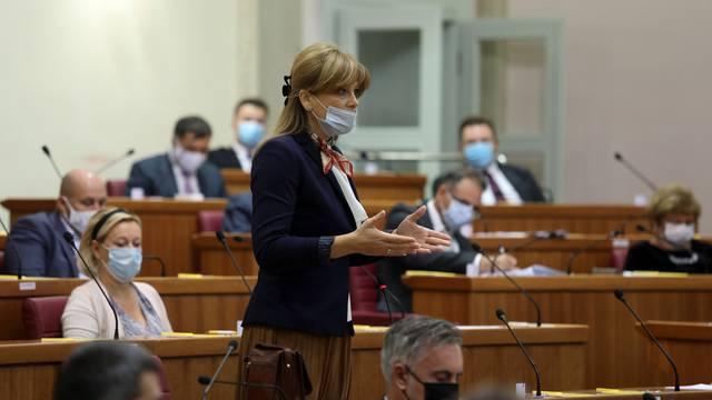 Željko Reiner upozorio Vidović Krišto da propisno nosi masku