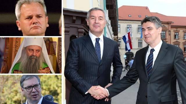 Stigao je  balkanski Putin: Milo od Slobe i apsolutne vlasti do fajta s Vučićem i bune na Cetinju