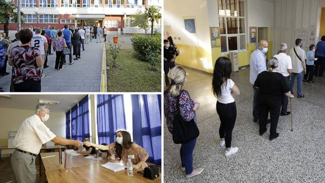 Drugi dan izbora: Opet velike gužve na biralištima u Mostaru