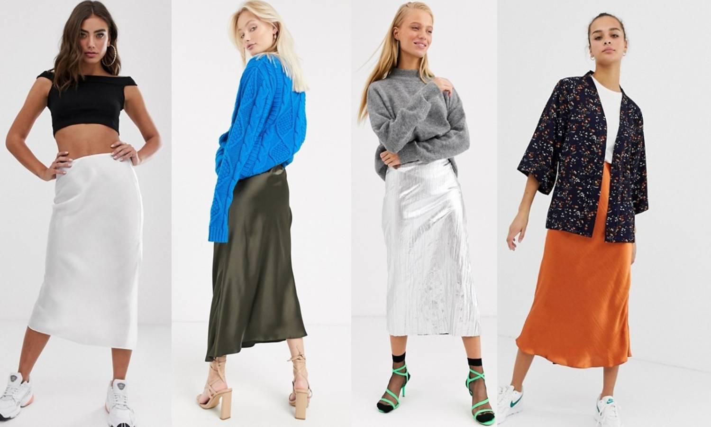 Satenska suknja iz 90-ih vraća se kao jedan od ljetnih hitova
