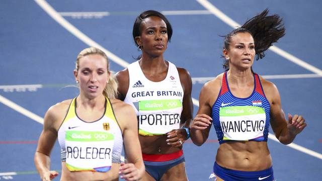 Athletics - Women's 100m Hurdles Semifinal