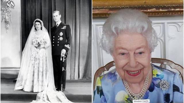 Kraljica prilikom prvog javnog pojavljivanja nosila emotivni podsjetnik na pokojnog muža