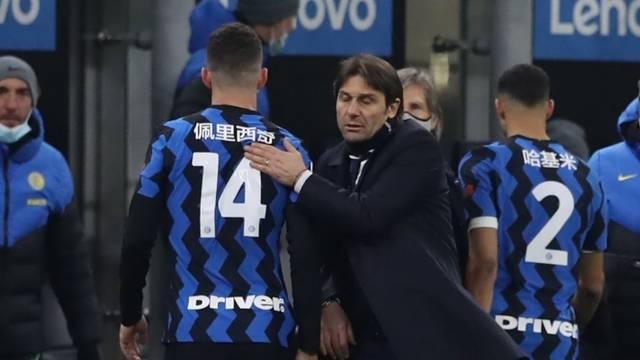 Perišić postao lijevi bek! Conte: Bio je baš mukotrpno strpljiv...