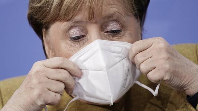 Njemački Bild: Angela Merkel želi 'mega-lockdown', planira u potpunosti zatvoriti zemlju