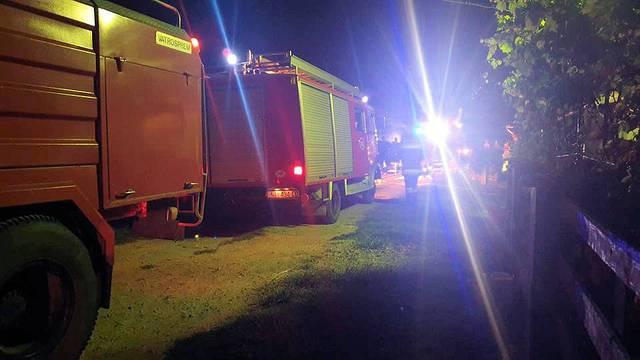 Zapalila se obiteljska kuća u Slavoniji: Preminuo muškarac